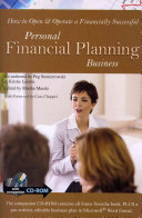 How to Open   Operate a Financially Successful Personal Financial Planning Business