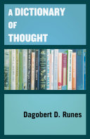 A Dictionary of Thought Pdf/ePub eBook
