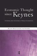 Pdf Economic Thought Since Keynes Telecharger