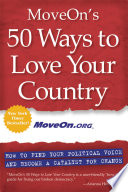 Moveon S 50 Ways To Love Your Country