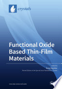 Functional Oxide Based Thin Film Materials