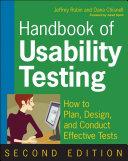 Handbook of Usability Testing Pdf/ePub eBook