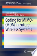 Coding for MIMO OFDM in Future Wireless Systems