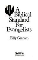A biblical standard for evangelists