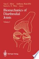 Biomechanics of Diarthrodial Joints
