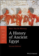 Pdf A History of Ancient Egypt Telecharger