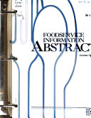 Foodservice Information Abstracts