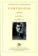 Carteggio: 1907-1944 (2 volumi)
