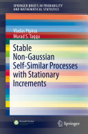 Stable Non Gaussian Self Similar Processes with Stationary Increments