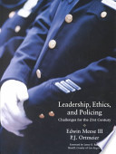 Leadership, Ethics, and Policing