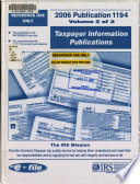 Taxpayer Information Publications