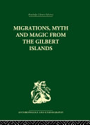 Pdf Migrations, Myth and Magic from the Gilbert Islands