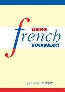 Pdf Using French Vocabulary