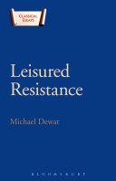 Leisured Resistance Pdf/ePub eBook