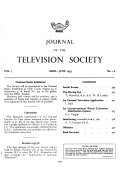 Journal of the Television Society