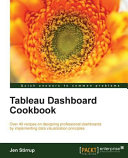 Tableau Dashboard Cookbook