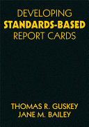 Developing Standards Based Report Cards