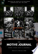 The Motive Journal  5th Edition