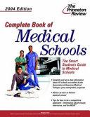 Complete Book of Medical Schools  2004