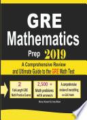 GRE Math Prep 2019 Book