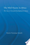 The NGO Factor in Africa