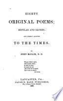 Eighty Original Poems