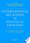 International Relations In Political Thought PDF