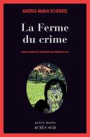 La Ferme du crime Book