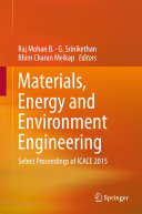 Materials, Energy and Environment Engineering