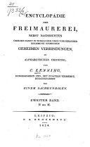 Enzyklopädie der Freimaurerei
