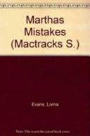 Books - Mtx Marthas Mistake | ISBN 9780333540381