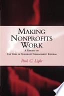 Making Nonprofits Work
