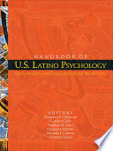 Handbook Of U S Latino Psychology Book PDF