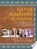 Native American Almanac Book