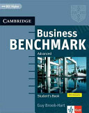 Business benchmark. Advanced : Student's book : BEC higher ; [with glossaries]