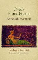 Ovid s Erotic Poems