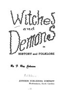 Witches And Demons In History And Folklore Book PDF