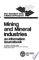Mining and Mineral Industries