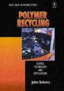 Polymer Recycling Book PDF