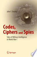 Codes  Ciphers and Spies Book