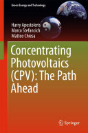 Concentrating Photovoltaics  CPV   The Path Ahead