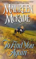 To Find You Again ebook
