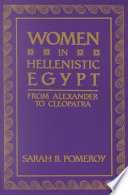Women in Hellenistic Egypt Book