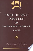 Indigenous Peoples in International Law Book