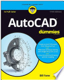 List of Dummies Autocad E-book