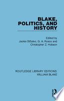Blake  Politics  and History
