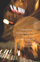 Contemporary Adulthood and the Night-Time Economy ebook