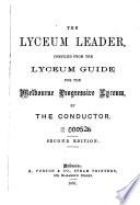 The Lyceum Leader