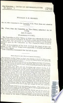 Mr  Winn  from the Committee on War Claims  Submitted the Following Report   To Accompany H  R  3237   Book PDF