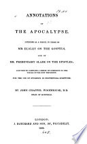 Annotations on the Apocalypse